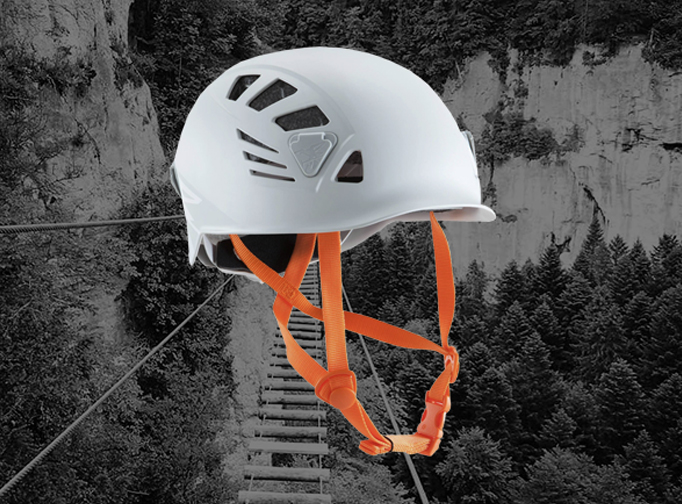 Casque via ferrata